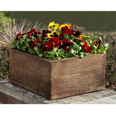 Stone Barn Board Tall Garden Planter - Soothing Company
