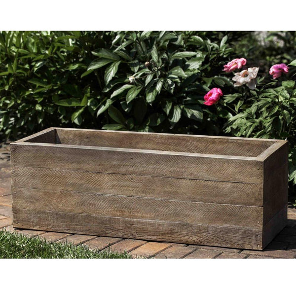 Stone Barn Board Window Box Planter - Soothing Company
