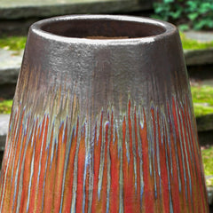 Barolo Planter in Bronze Garnet - Soothing Company