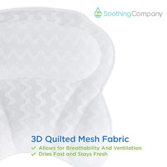 Neck, Head and Shoulders Bath Pillow - Soothing Company