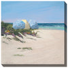 Beach Umbrellas Outdoor Canvas Art - Soothing Company