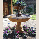 Belair Two Tier Outdoor Water Fountain - Soothing Company