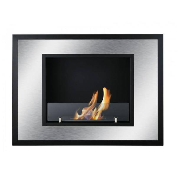 Ignis Bellezza Mini Recessed Bio Ethanol Fireplace - Soothing Company