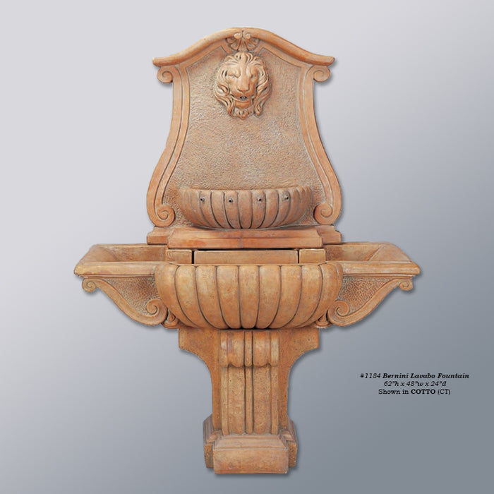 Bernini Lavabo Outdoor Water Fountain - Soothing Company