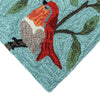 Liora Manne Ravella Birds On Branches Aqua Area Rug