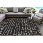Liora Manne Frontporch Bistro Slate Area Rug - Soothing Company