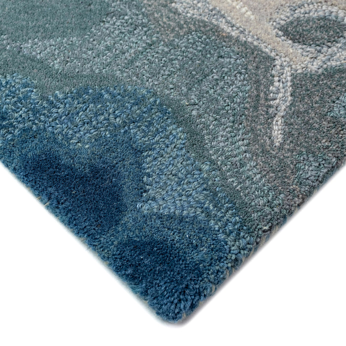 Liora Manne Corsica Water Blue Area Rug - Soothing Company