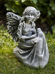 Bluebell Cast Stone Garden Statue - Soothing Company