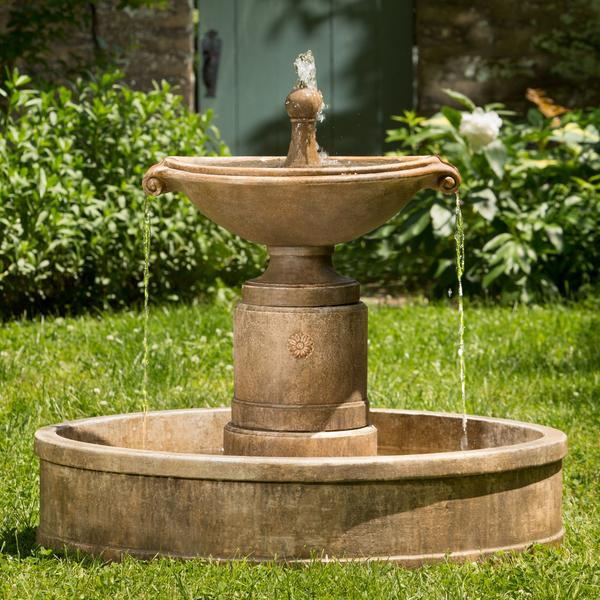 Borghese Fountain in Basin - Soothing Company