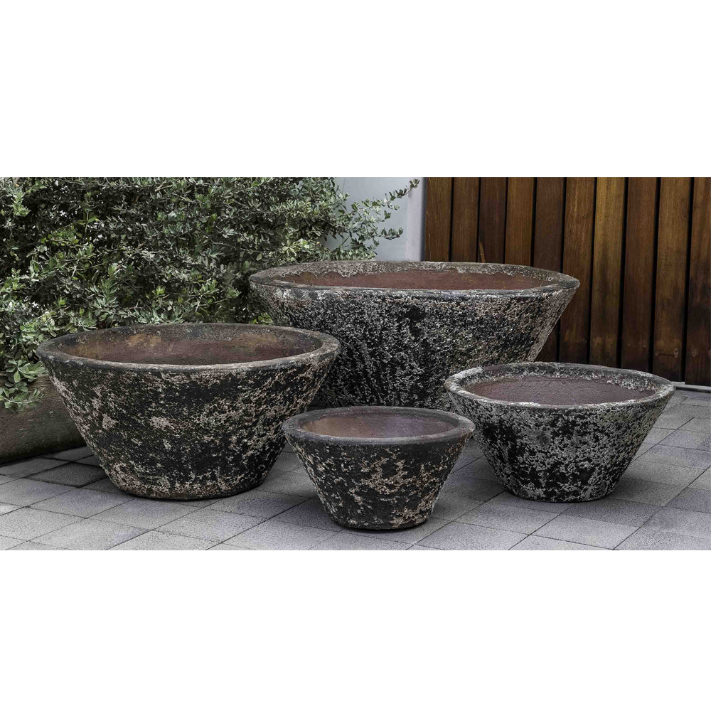 Brasilia Planter - Set of 4 in Aegean - Soothing Company