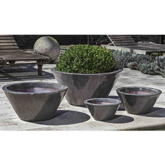 Brasilia Planter - Set of 4 in Ice Black - Soothing Company