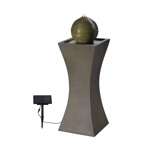 Bubble Outdoor Solar Fountain - Soothing Company