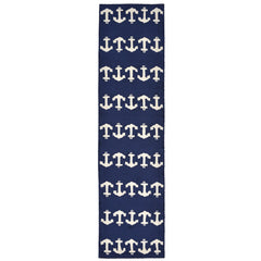 Liora Manne Capri Anchor Navy Area Rug - Soothing Company