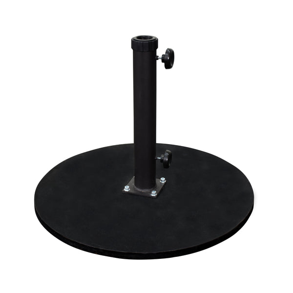 California 95 lbs. Umbrella Base With Cast Iron Black - Soothing Company