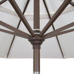California 7.5' Patio Umbrella with Push Button Tilt and Crank Lift  - Soothing Company