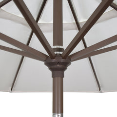 Available Colors for California 7.5' Patio Umbrella with Push Button Tilt and Crank Lift  - Soothing Company