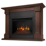 Callaway Grand Electric Fireplace in Chestnut Oak - Soothing Company