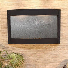 Calming Waters: Black FeatherStone and Textured Black Trim