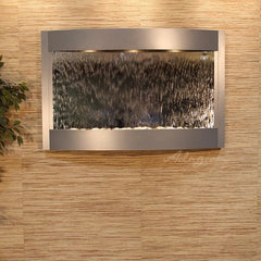 Calming Waters - Silver Mirror - Silver Metallic - Soothing Walls