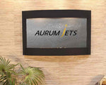 Calming Waters Wall Fountain with Logo - Soothing Walls