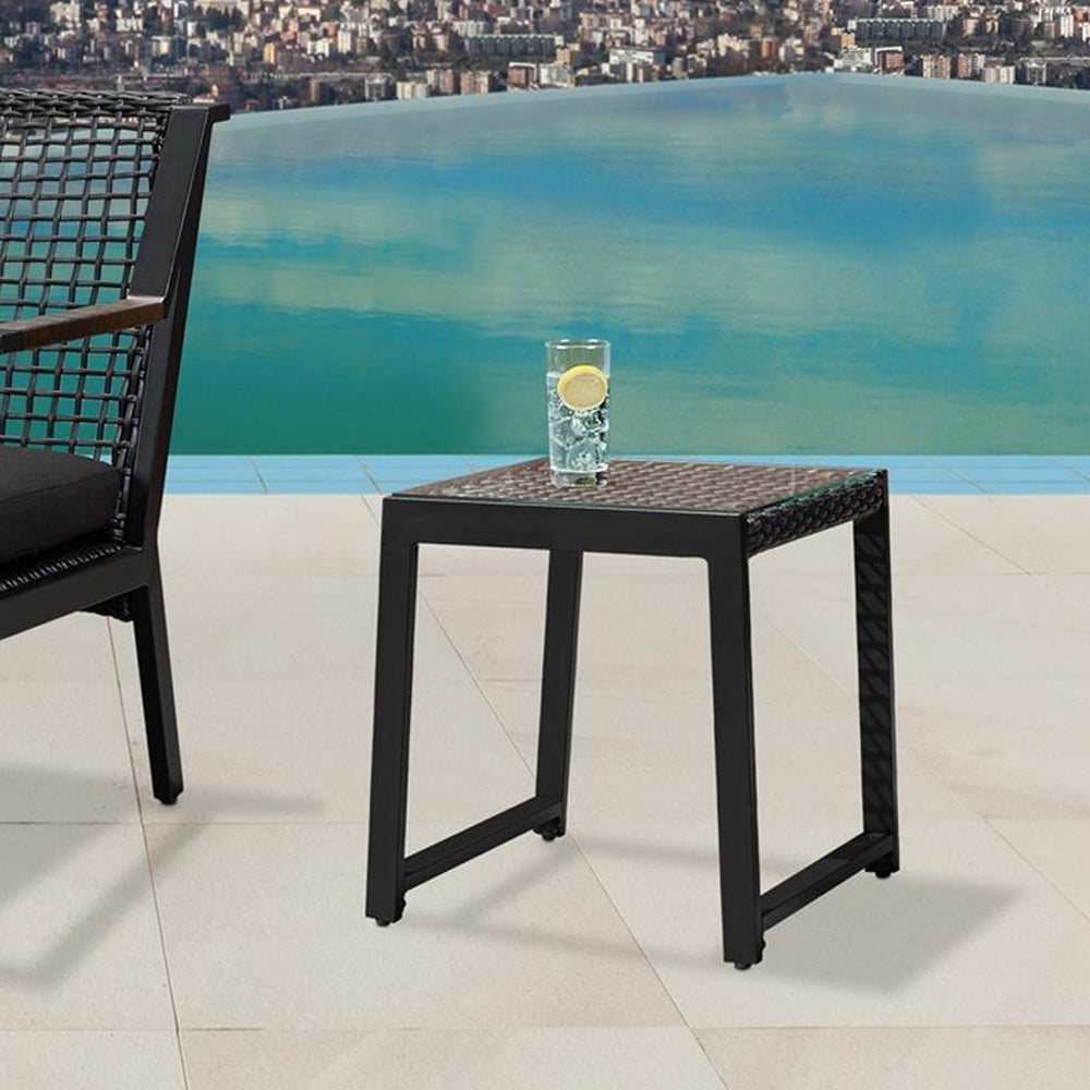 Calvin End Tables Set of 2 in Black - Soothing Company