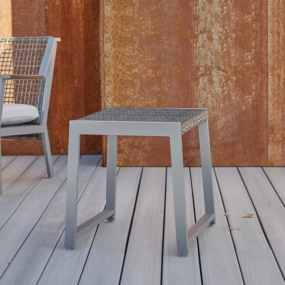 Calvin End Tables Set of 2 in Gray - Soothing Company