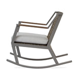 Calvin Rocker Chairs Set of 2 in Gray - Soothing Company