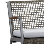 Calvin Two Seat Rocker in Gray - Soothing Company