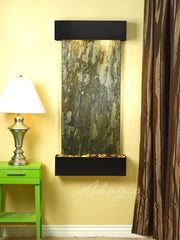 Cascade Springs: Green Slate and Blackened Copper Trim with Squared Corners