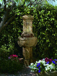 Chalet Cast Stone Garden Fountain - Soothing Company