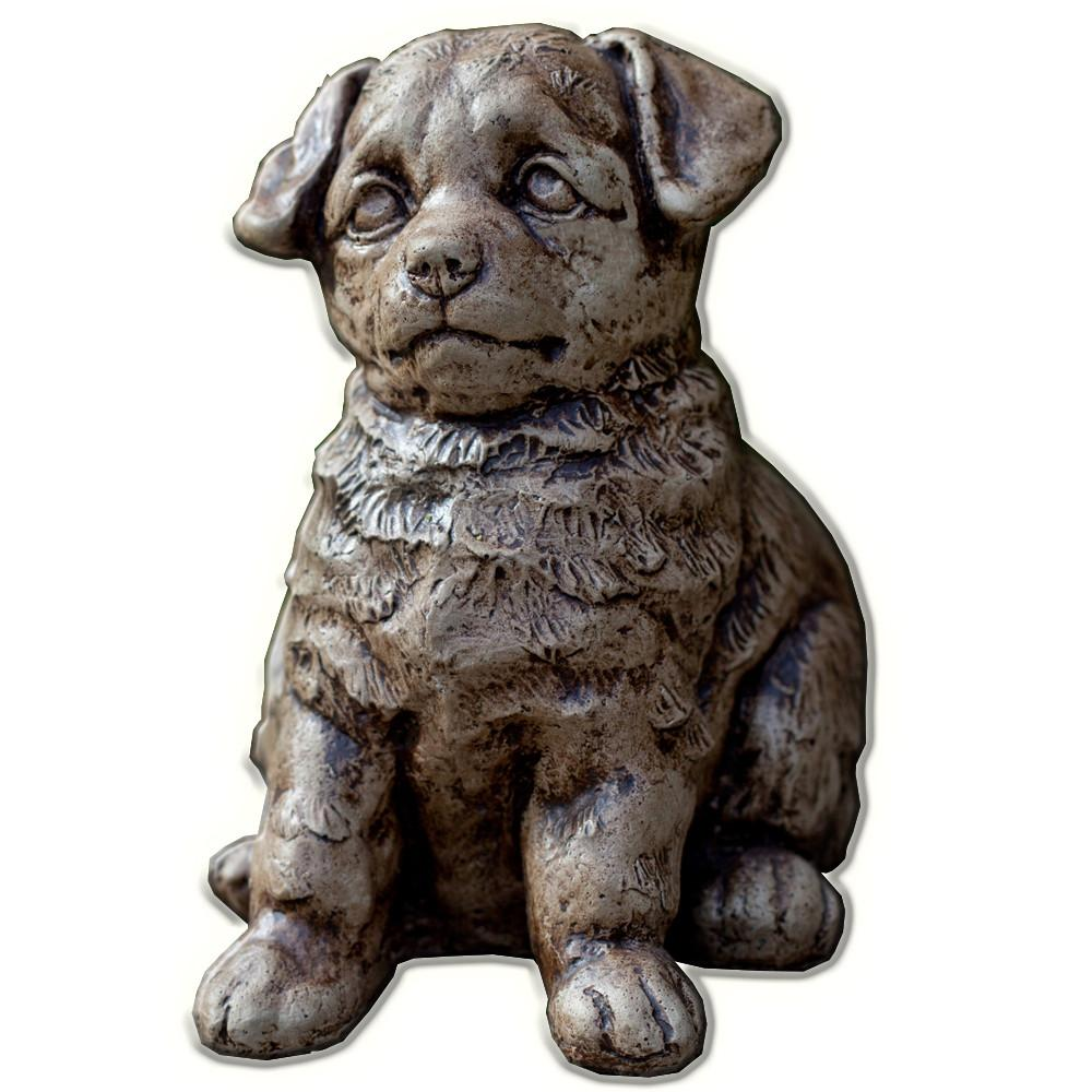 Chip Cast Stone Garden Statue - Soothing Company