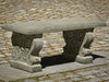Classic Stone Garden Bench - Soothing Company