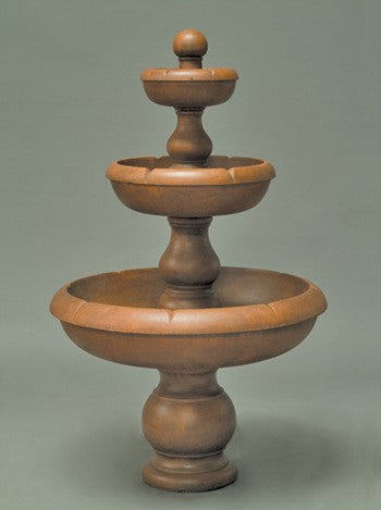 Classic 3-Tier Outdoor Water Fountain