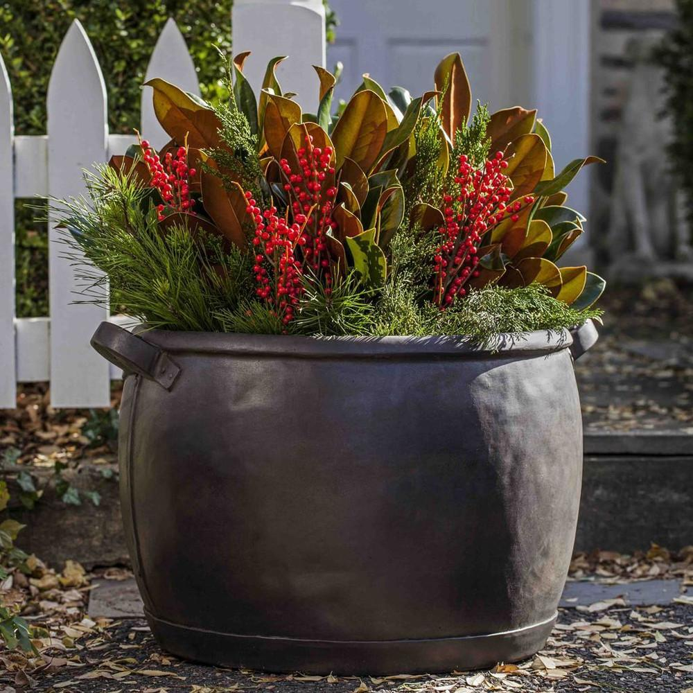 Copper Kettle Garden Planter - Soothing Company