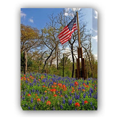 Country Pride Outdoor Canvas Art - Outdoor Art Pros