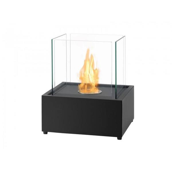 Ignis Cube XL Freestanding Bio Ethanol Fireplace - Soothing Company