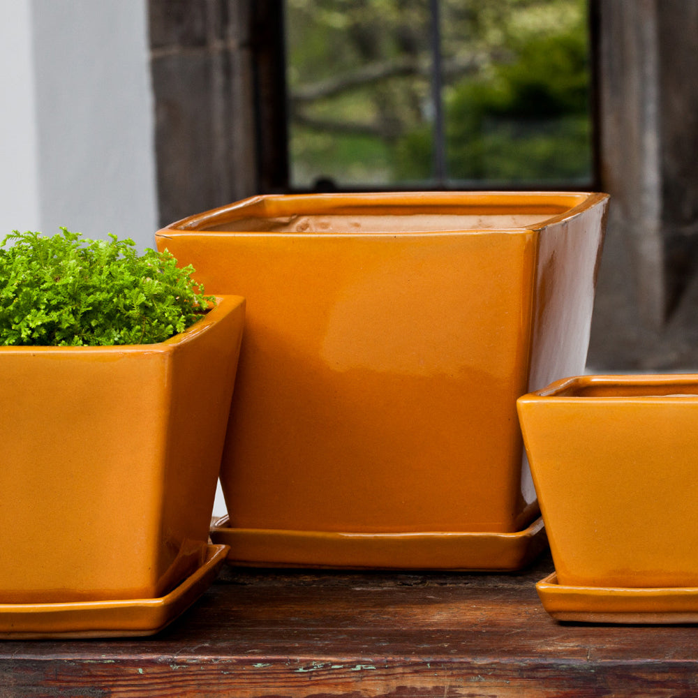 Darcy Planter Set of 6 in Orange - Soothing Company