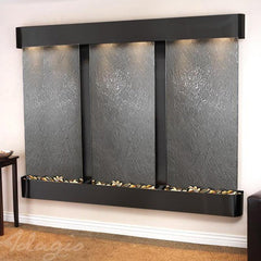 Deep Creek Falls: Black Featherstone and Blackened Copper Trim with Rounded Corners