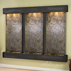 Deep Creek - Green FeatherStone - Blackened Copper - Squared Corners - Soothing Walls