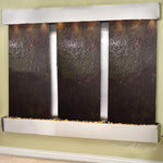 Deep Creek Falls: Multi-Color Featherstone and Stainless Steel Trim with Squared Corners