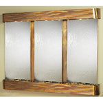 Deep Creek Falls: Silver Mirror and Rustic Copper Trim with Rounded Corners
