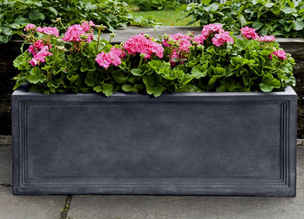 Denbigh Lead Lite® Window Box Planter - Soothing Company
