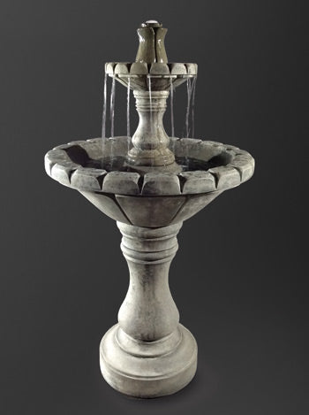 Small Dijon Garden Fountain - Soothing Company