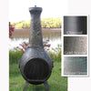 The Blue Rooster Dragonfly Chiminea-Soothing Company