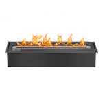 Ignis EB2400 Ethanol Fireplace Burner Insert in Black- Soothing Company