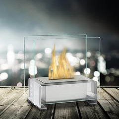 Eco-Feu Paris Tabletop Biofuel Fireplace - Soothing Company