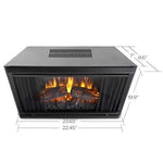 Real Flame Electric Firebox - Soothing Company
