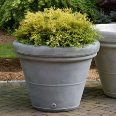 Estate Rolled Rim Medium Garden Planter - Soothing Company