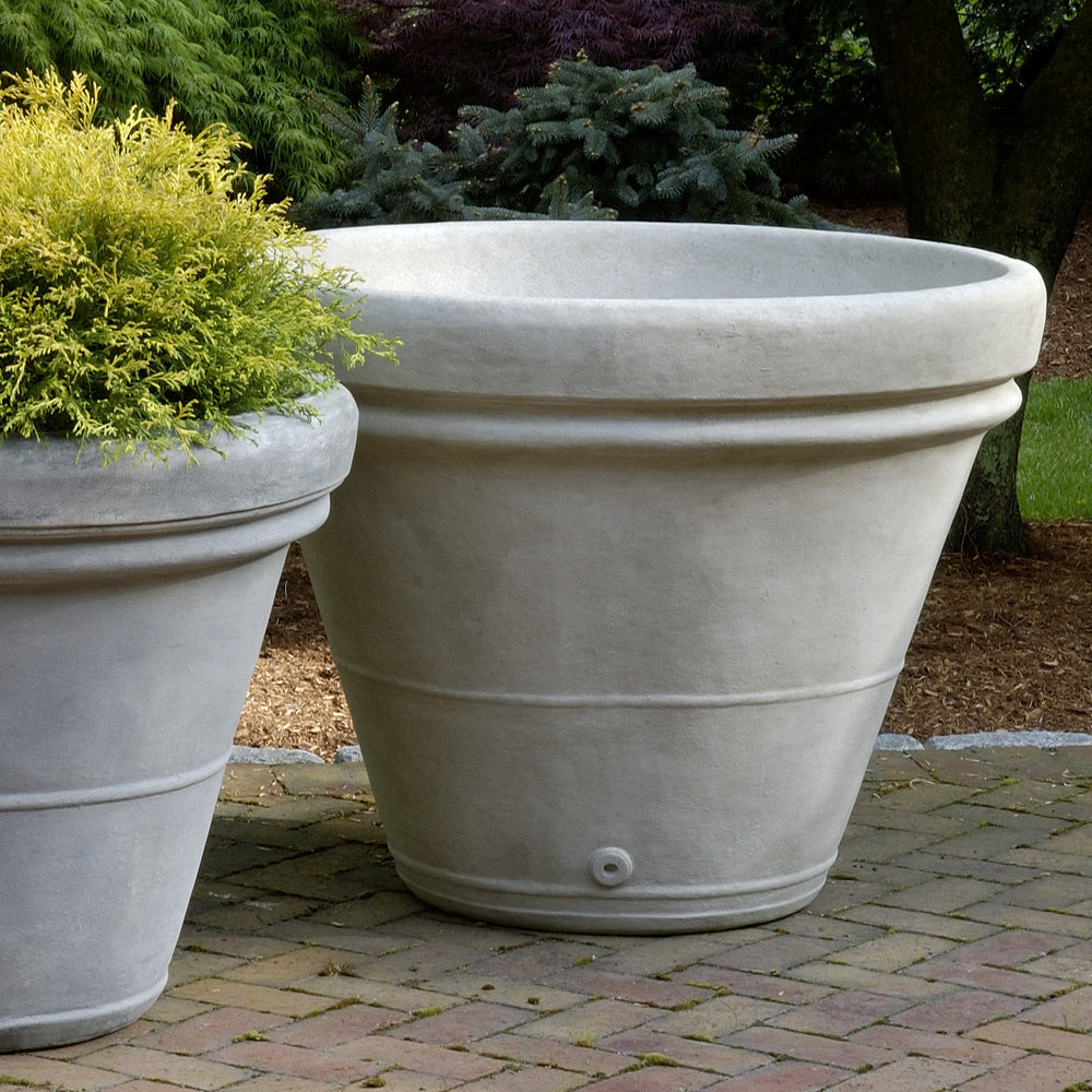 Estate Rolled Rim Large Garden Planter - Soothing Company