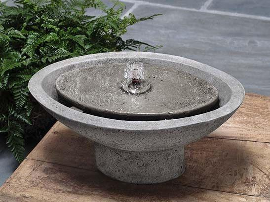 Zen Oval Garden Water Fountain - Soothing Company